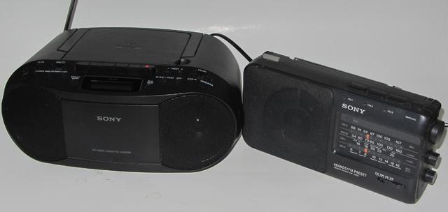 Sony Radios