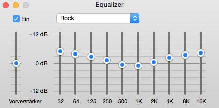 Rock Equalizer