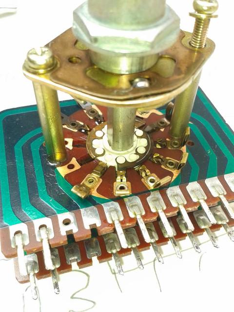 Eingangswahl-Schalter Pioneer SA-9500 II