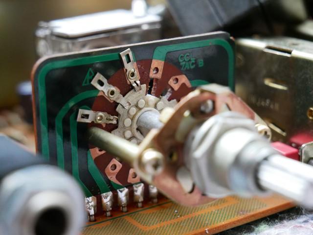 gereinigter Schalter Pioneer SA-9500 II