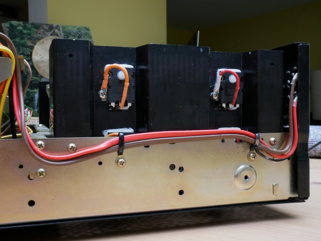 neue Endtransistoren ON MJL4281 und MJL4302 Pioneer SA-9500 II