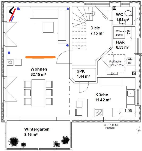 offener wintergarten wohnzimmer ~ surfinser.com - Offene Kuche Wohnzimmer Grundriss