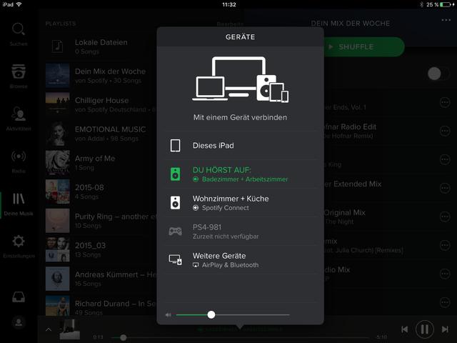 Spotify Playlisten Zusammenfügen
