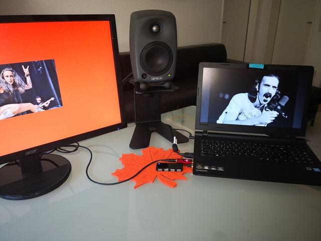 Lenovo | AQ DF red  | Genelec 8020