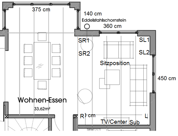 lautsprecherposition im neubau kabel verlegen lautsprecher hifi forum. Black Bedroom Furniture Sets. Home Design Ideas