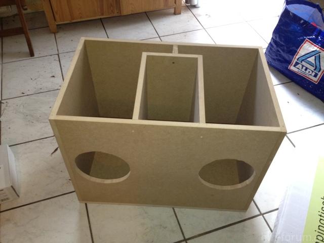 Box Von Schräg Oben