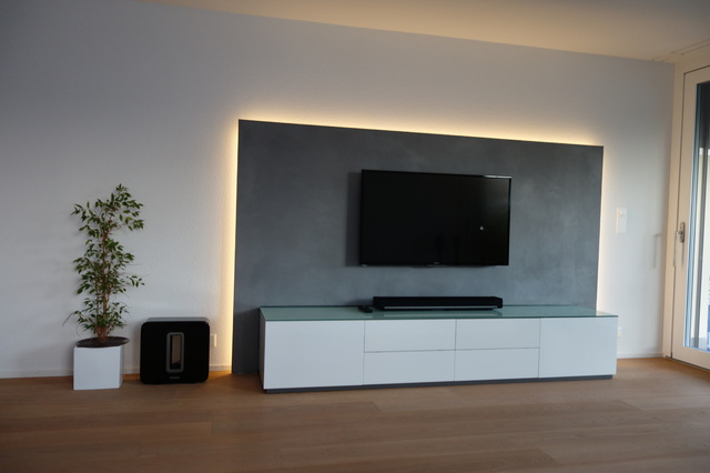 vorbauwand tv ihr traumhaus ideen. Black Bedroom Furniture Sets. Home Design Ideas