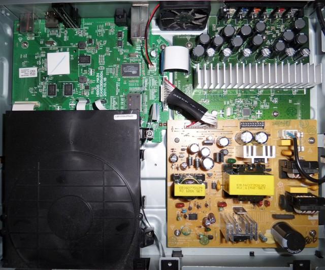 LG HX806SV Innenleben