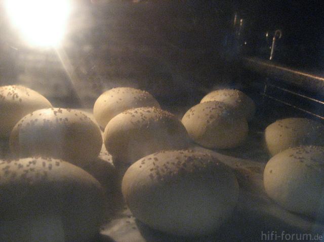 Blick In Den Ofen Buns Nach Okraschote