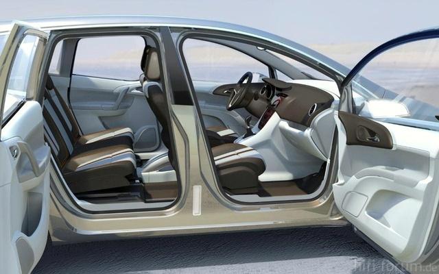 Opel Meriva Concept Doors