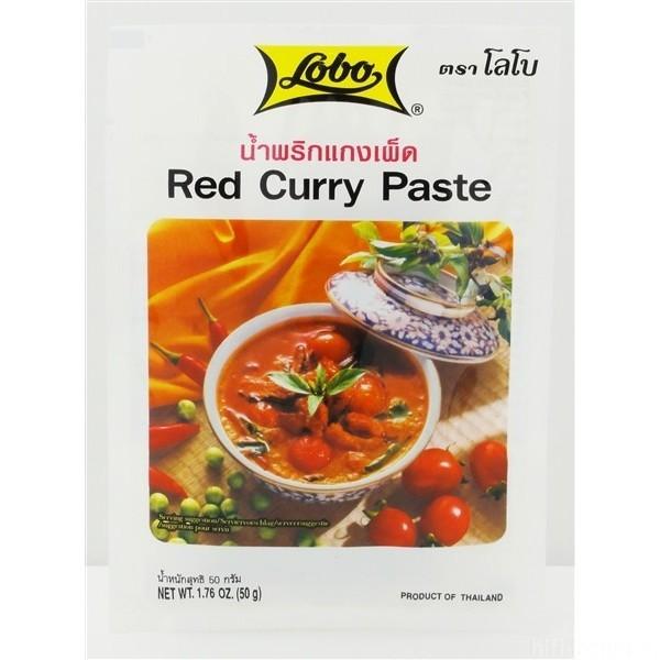 Rote Currypaste Von Lobo 50g