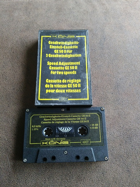 Koenig Einstell-Cassette