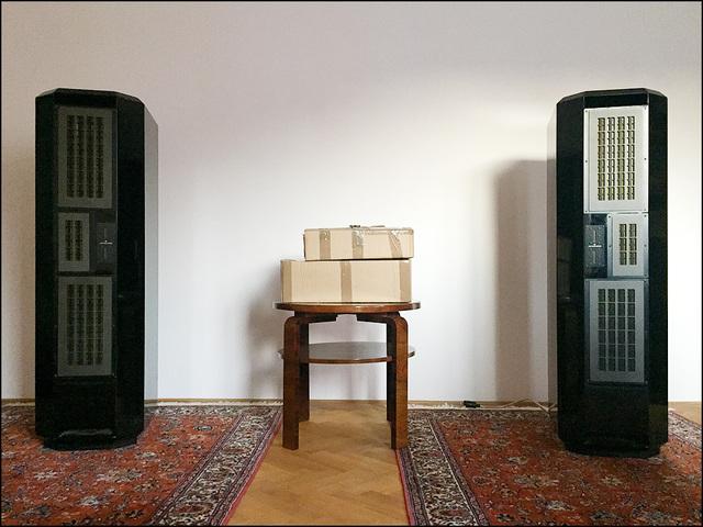 Fischer Audio Anthaeus: grand repair, Lautsprecher und Subwoofer