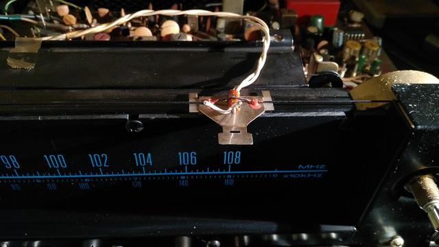 Pioneer SX-626 offen