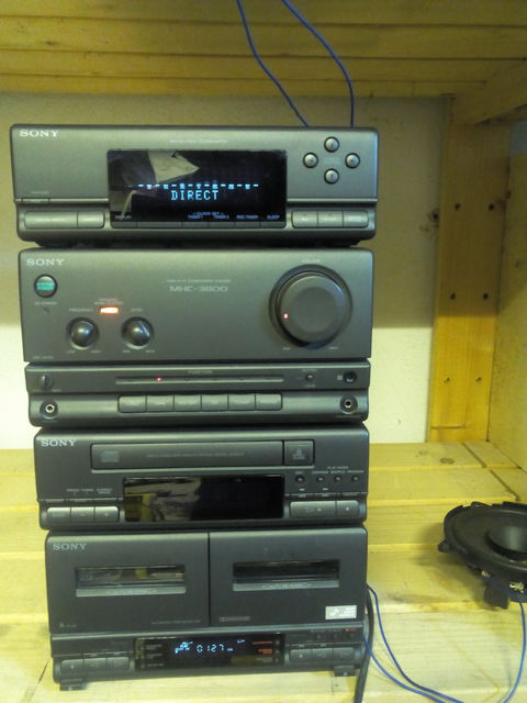 probleme mit sony mhc 3800 elektronik stereo surround. Black Bedroom Furniture Sets. Home Design Ideas