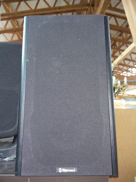 unbekannte Sherwood Stereo Lautsprecher
