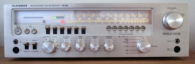 Telefunken TR550 Bj. 1979-1980