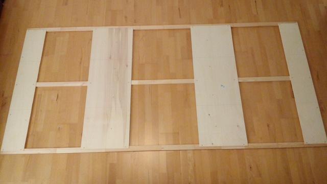 Segel Rahmen mit Klebefläche