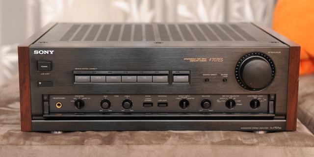 Sony TA-F808 ES; CDP-X55 ES; TA-F707 ES