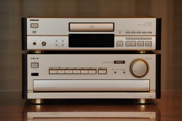 Sony TA-F808ES & Sony CDP-X505ES