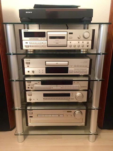 Sony TA-F870 ES; CDP-X505 ES; ST-S707 ES; TC-K808 ES; DAR 1000 ES