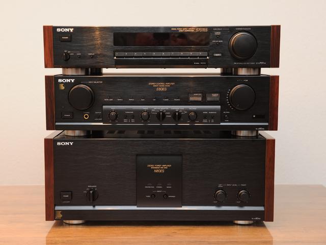 Sony TA-N80ES; Sony TA-E80ES; ST-S707 ES