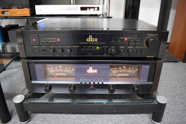 DBXBX-3MkIIPowerAmplifierwithDBXCX-3ControlAmplifier1