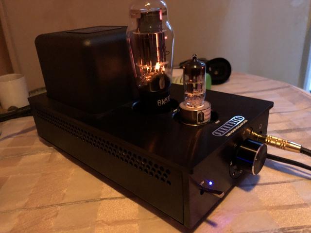 Darkvoice 336SE mit Ersatzröhre ECC82