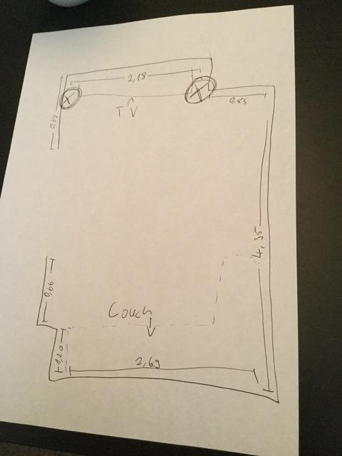 Wohnzimmer Grundriss skizze