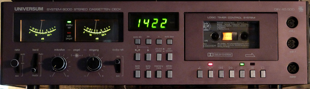 Universum System 8000 Tape