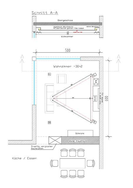 Wohnzimmer GR+Schnitt