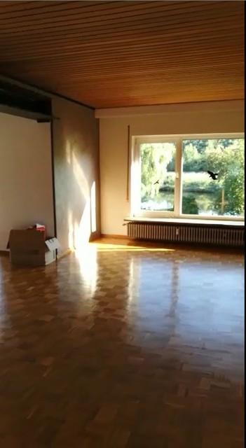 Wohnzimmer mit komplizierter geometrie und mehreren - Wohnzimmer hallt was tun ...