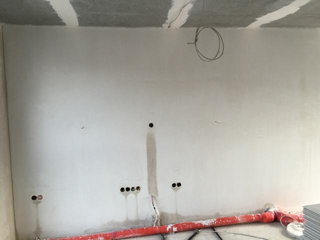Elektroinstallation nach Putzarbeiten