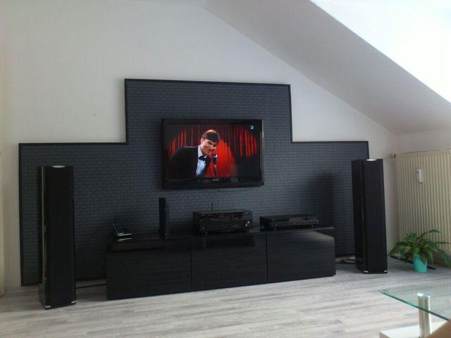 Bilder eurer steinw nde kiesbetten racks geh use hifi forum seite 66 - Tv an wand anbringen ...