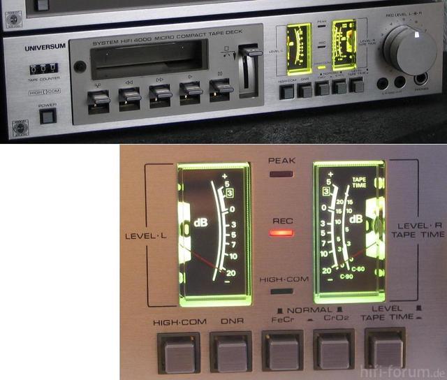 UNIVERSUM C5505 - VU-Meter