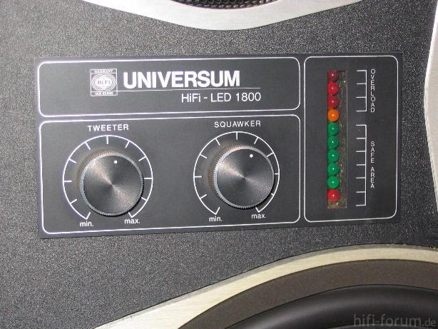 UNIVERSUM LED 1800 - Power Indikator