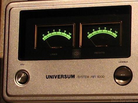 UNIVERSUM V2383 - VU-Meter