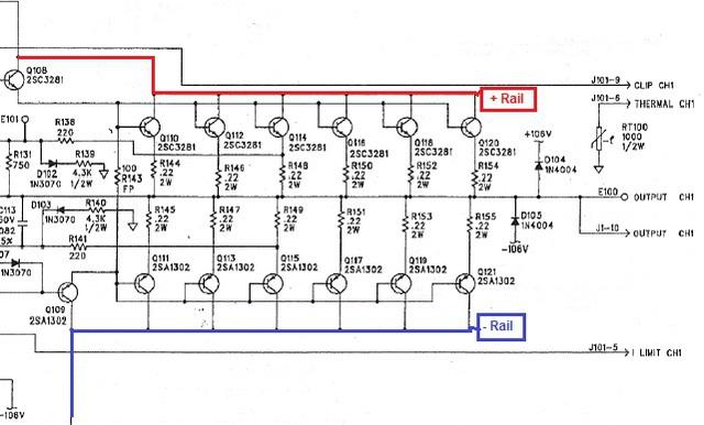 Bose1400 Rails