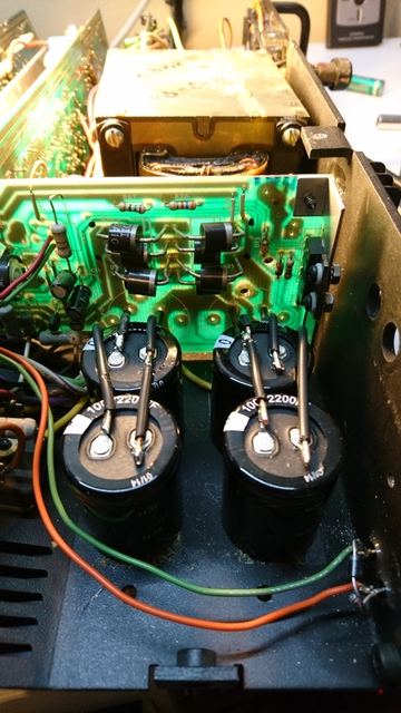 CARVER PM 1200 Neue Kondensatoren