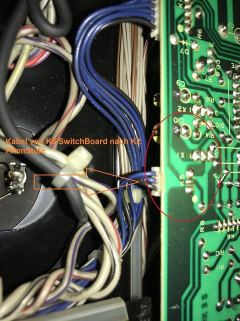 Kabel K5 nach K2