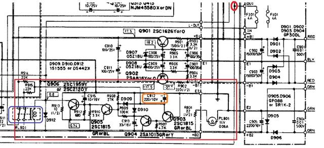 onkyo A35 relais