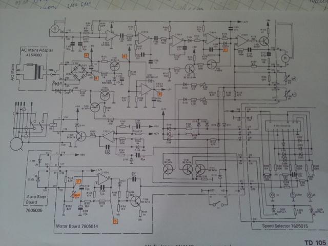 Schaltplan TD 105