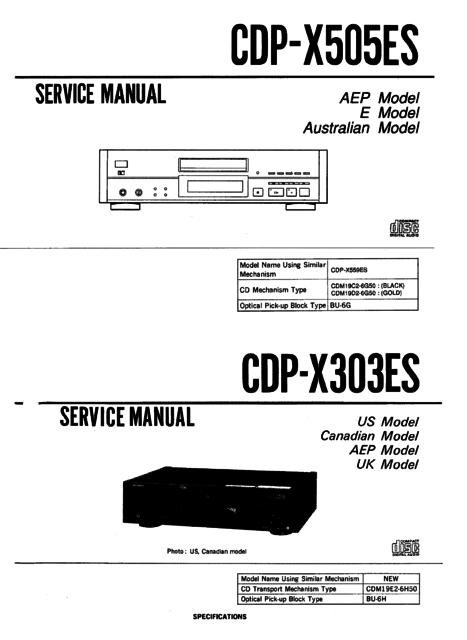 Sony X505ESvsx303ES