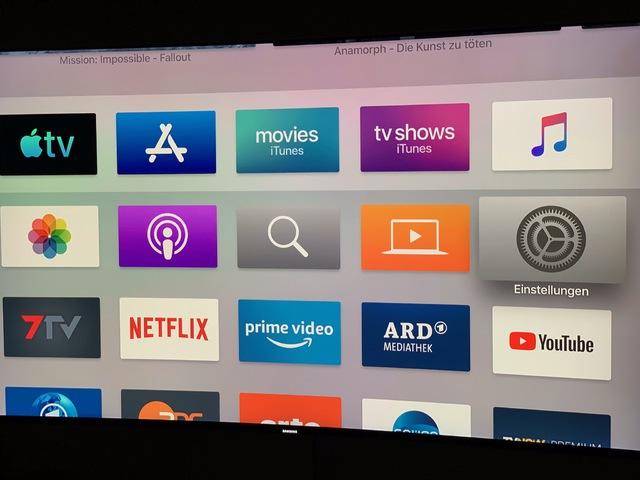 Apple 4K Erscheinungsbild