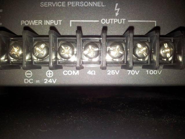 Vorverstärker Outputs