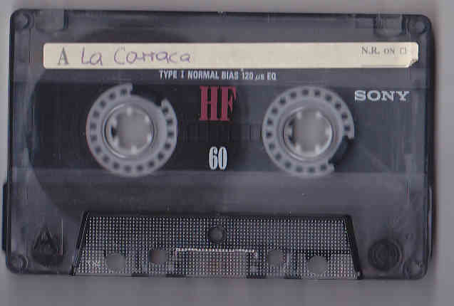 Audiokassetten Bestand Juni 2016