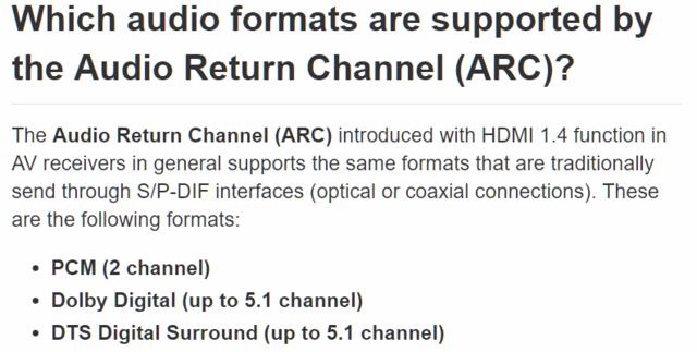 HDMI ARC 1 4   Denon I