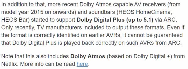 HDMI ARC 1 4   Denon II