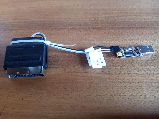 Seriell-zu-USB-(Scart-)Adapter