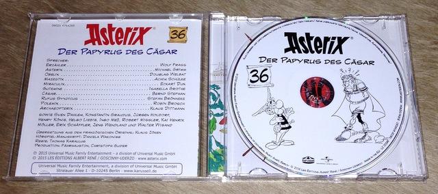 Asterix - Der Papyrus Des Cäsar (CD, Karussell - 2015)